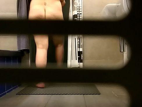 Fatty MILF small tits voyeur (part 1)