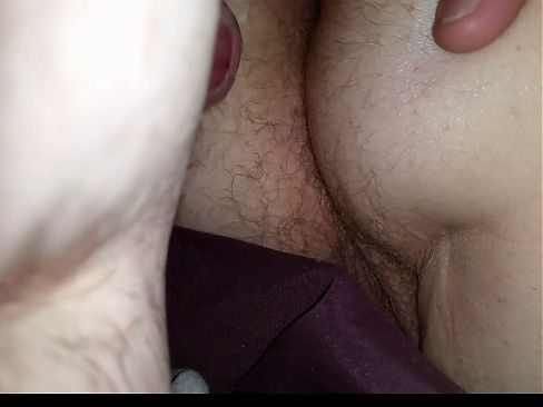i was pre cuming & ready to cum on her ass,  got interrupted